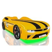 Кровать машина Romack Energy-M желтый