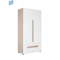Шкаф 2-створчатый с ящиком Палермо