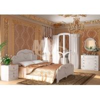 Спальня Мария МДФ белый