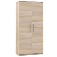 Шкаф Аврора 2-х дверный Сонома
