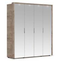 Шкаф Джулия (4 двери/4 зеркала) с порталом
