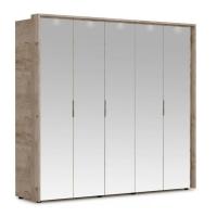 Шкаф Джулия (5 дверей/5 зеркал) с порталом