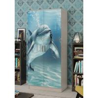 Шкаф 2-х створчатый Дельфин