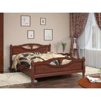 Кровать Елена-4 (орех) 160 см