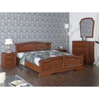 Кровать Елена (орех) 120 см