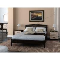 Кровать Камелия-1 (венге) 90 см
