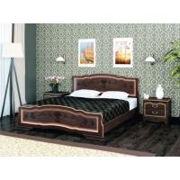 Кровать Карина-6 (орех темный) 160 см