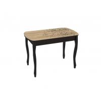 Стол обеденный Экстра-1 (венге/Капучино)