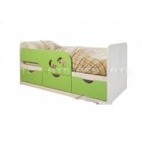 Детская кровать Минима Лего (Лайм)