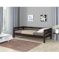 Кровать из массива Глория (орех темный)