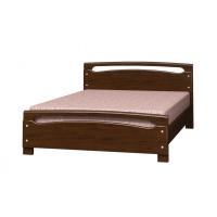 Кровать из массива Камелия-2 (дуб коньяк) 140 см