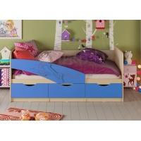 Детская кровать Дельфин МДФ 1,6