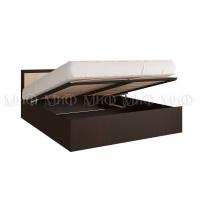 Кровать Фиеста 1,4 с подъемным механизмом (венге/дуб)