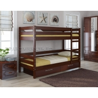 Двухъярусная кровать из массива Джуниор (орех)