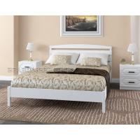Кровать Камелия-1 (белый античный) 140 см