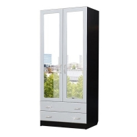 Шкаф 2-дверный с ящиками Атлантида