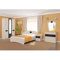 Комплект мебели для спальни №1 Марта (дуб светлый)