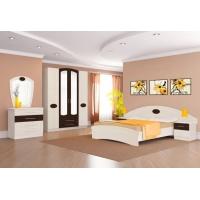 Комплект мебели для спальни №2 Марта (дуб светлый)