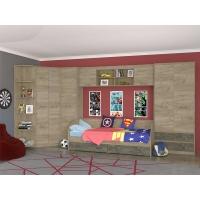 Комплект мебели для детской комнаты №1 Дакота