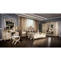 Комплект мебели для спальни Джоконда (крем глянец)