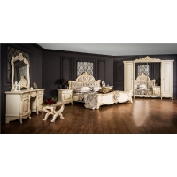 Комплект мебели для спальни Лорена (крем)