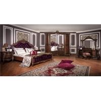 Комплект мебели для спальни Росселла (корень дуба глянец)