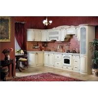 Кухонный гарнитур 3700 угловой Мадлен (крем)
