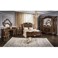 Комплект мебели для спальни Оливия (корень дуба глянец)