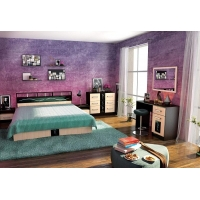Комплект мебели для спальни №3 Эрика