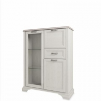 Шкаф с витриной Монако 1V2D1S