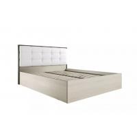 Кровать 1600 с мяг. спинкой и орт. основанием Лирика ЛК-2