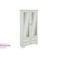 Шкаф 2-хстворчатый комбинир, с зеркалом (440) Каприз