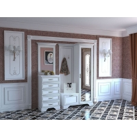 Комплект мебели для прихожей №1 Каприз