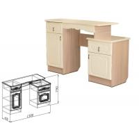 Туалетный стол Корона (жемчуг глянец)