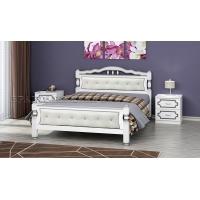 Кровать Карина-11 (белый жемчуг), 160 см