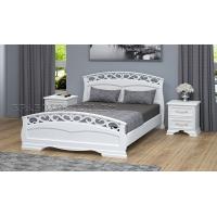 Кровать Грация-1 (140*200) белый