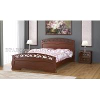 Кровать Грация-1 (140*200) орех