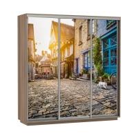Шкаф-купе 3-х дверный Экспресс 1800 Фото Улица