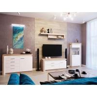 Комплект мебели для гостиной Люмен (белый снег)