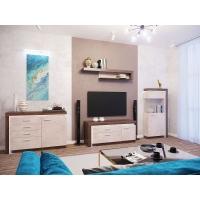 Комплект мебели для гостиной Люмен (камень светлый)