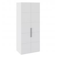 Шкаф с 2-мя дверями СМ-208.07.03 Наоми (белый глянец)