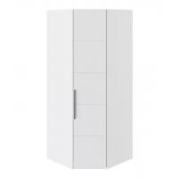 Шкаф угловой с 1-й дверью СМ-208.07.06 Наоми (белый глянец)
