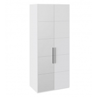 Шкаф с 1-й глухой и 1-й зеркальной правой дверями СМ-208.07.04 L Наоми