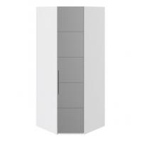 Шкаф угловой с 1-й зеркальной правой дверью СМ-208.07.07 R Наоми