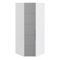 Шкаф угловой с 1-й зеркальной левой дверью СМ-208.07.07 L Наоми
