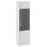 Шкаф для посуды ТД-208.07.25 Наоми (белый глянец)