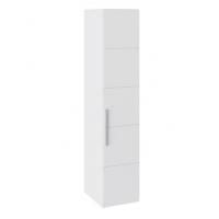 Шкаф с 1-й дверью СМ-208.07.01 Наоми (белый глянец)