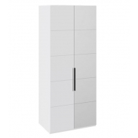 Шкаф с 1-й глухой и 1-й зеркальной правой дверями СМ-208.07.04 R Наоми