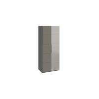 Шкаф с 1-й глухой и 1-й зеркальной правой дверями «Наоми» СМ-208.07.04 R