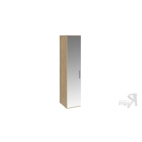 Шкаф для белья с 1 зеркальной дверью левый Николь СМ-295.07.002 L